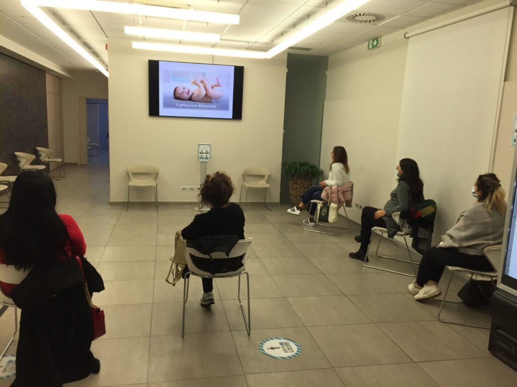 Foto delle Partecipanti al Corso accompagnamento al parto Clinica Gretter Catania